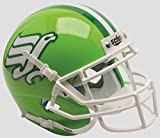 Schutt NCAA North Texas Mean Green Mini Authentic XP Football Helmet, Flying Worm 2015 Alt. 3, Mini