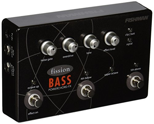 Fishman Fission Bass Powerchord FX Pedal by Fishman