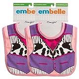Embelle (6 Pack) Baby Bibs for Girls Or Boys
