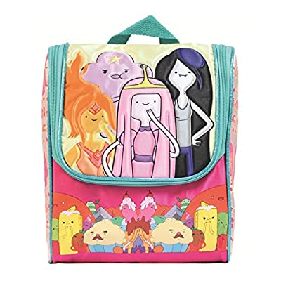 Cartoon Network's Adventure Time Pink Lunch Bag with 16 Ounce Drink Bottle