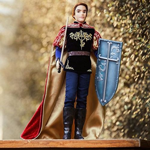 "Disney - Limited Edition Sleeping Beauty Prince Phillip 18.5"" Doll - Limited 1 of 3500"