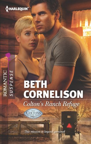book cover of Colton\'s Ranch Refuge
