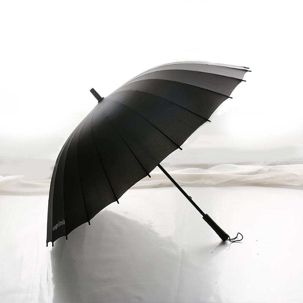 コマーシャル ヴィンテージ ロングハンドル 傘 英国スタイル スティック傘 カバー付き B07CMPK4L7