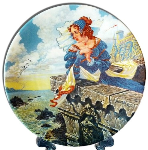 Used, The Franklin's Tale Collector's Plate from The Canterbury for sale  Delivered anywhere in USA