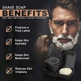 Natural Shave Puck - Creates Rich Creamy