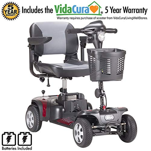(Phoenix 4 Wheel Heavy Duty Scooter by Drive Medical, 20