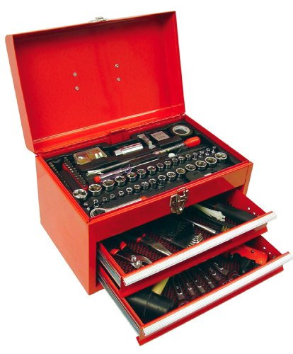 Custom Accessories 83947 Automotive Mechanic's Tool Set – 150 Piece