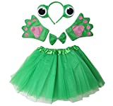 Kirei Sui Kids Frog Costume Tutu Set Green