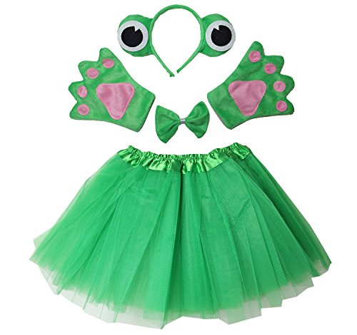 Kirei Sui Kids Frog Costume Tutu Set Green by Kirei Sui
