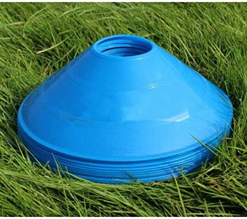 10Pcs,Blue,Thickened Version 24g BiAnYC Pro Disc Cones,Training Cones for Agile Training//Soccer Training//Football//Kids//Field//Other Games etc Cone Markers