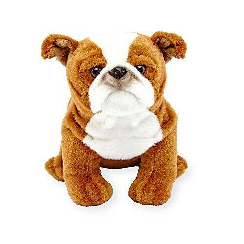 Animal Alley - 10.5 inch English Bulldog Plush - This Sweet Pup would just Love to be Your New Best Friend!