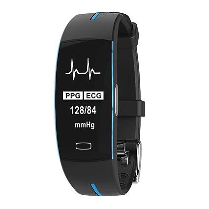 VERYMIN Reloj Inteligente P3 ECG + PPG Reloj Inteligente ...