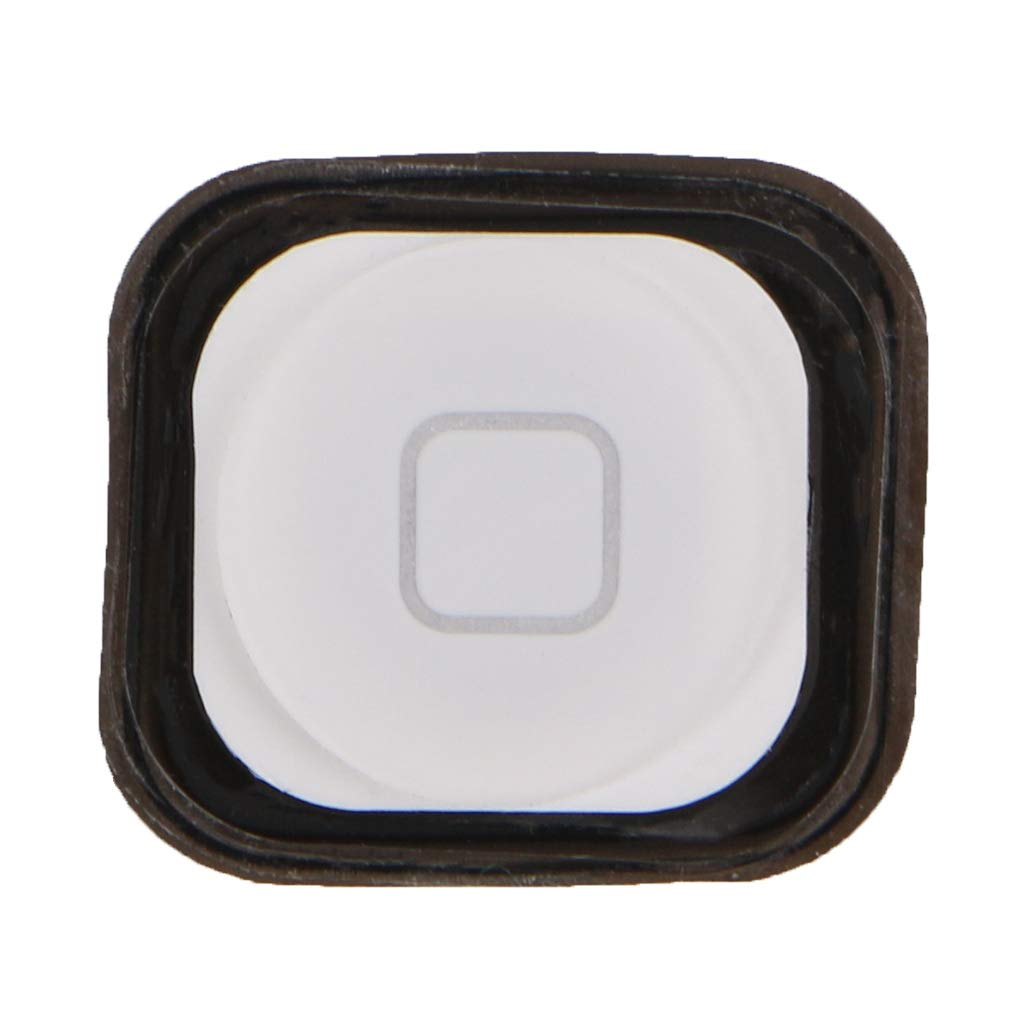 Itlovely Home Menu Button Replacement Return Key Cap Rubber Gasket Holder Repair Part for Apple iPod Touch 6