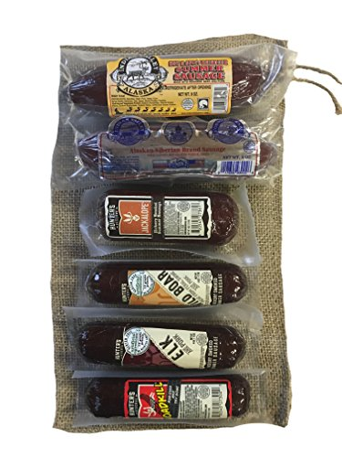 Exotic Summer Sausage Gift Bag