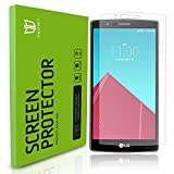 LG G4 Screen Protector, DEGBIT® [Full Coverage] LG G4 Tempered Glass Screen Protector [0.3mm, 9H, 2.5D] Ultra Clear / Case-Friendly / Anti-Scratch Glass Screen protector for LG G4 - Lifetime Warrenty