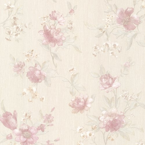Wallpaper Floral Mirage (Mirage 991-68206 Empress Floral Trail Wallpaper, Blush)
