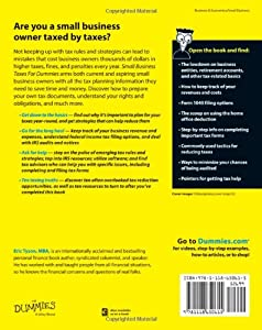 Small Business Taxes For Dummies from For Dummies