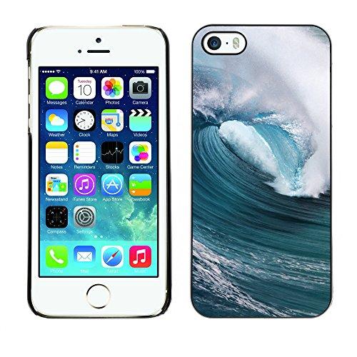 Premio Sottile Slim Cassa Custodia Case Cover Shell // F00004366 vague // Apple iPhone 5 5S 5G