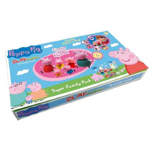 Jumbo Peppa Pig Super Family Pack - Estuche de manualidades ...