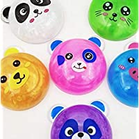 Royals Slime Toys for Kids - 3 Pieces Panda, Multicolour