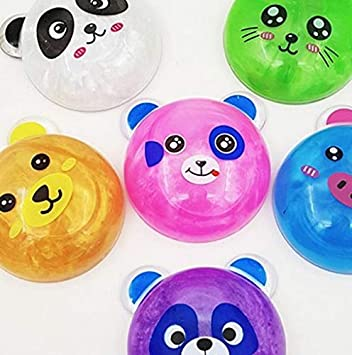 Royals Birthday Return Gifts For Kids Pack Of 12 Panda Slime Amazonin Toys Games
