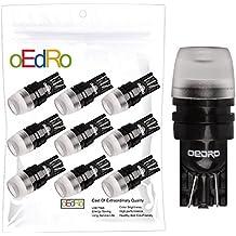 oEdRo T10 Led Xenon White High Power 1W 2323 LED Light Bulbs 192 168 194 921 (Pack of 10) (T10-1W-10Pcs)