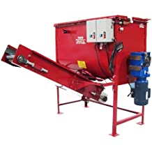 Soil Batch Mixer Combo - 1/2 cubic yard capacity, 3 phase, with conveyor