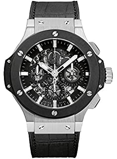 39516132c Amazon.com: Hublot Big Bang Unico Bi-Retrograde FIFA 2014 Black Dial ...
