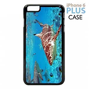 Shark Tropical Fish Aquatic Marine Life Coral Reef Apple iPhone 6 PLUS PLASTIC cell phone Case / Cover Great Gift Idea