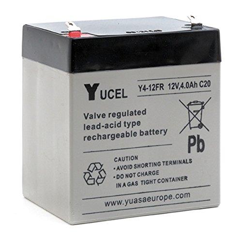 12v Agm 4ah Plomb Fr Yucel Unité s 12 Batterie Y4 HWED2e9IY