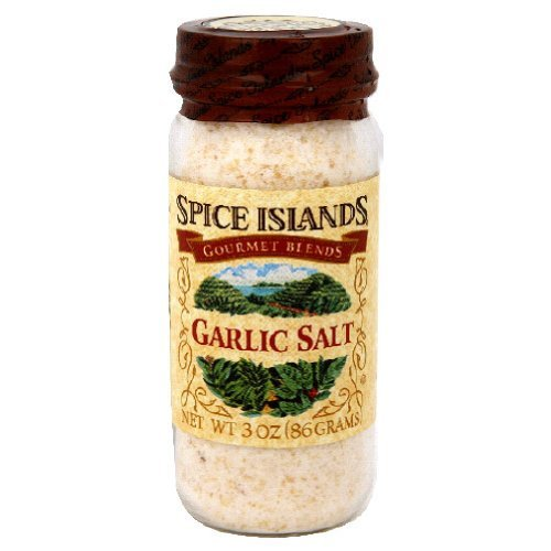 Spice Island Garlic Salt, 3 Ounce (Pack of 3)