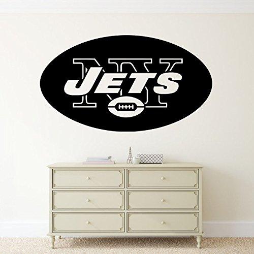New York Jets Wall Vinyl Decal NFL Emblem Sticker Football Logo Sport Home Interior Removable Decor (22