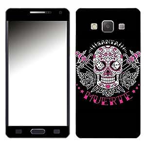 """Motivos Disagu Design Skin para Samsung Galaxy A5: """"Tag des toten Zuckerschädels schwarz"""""""