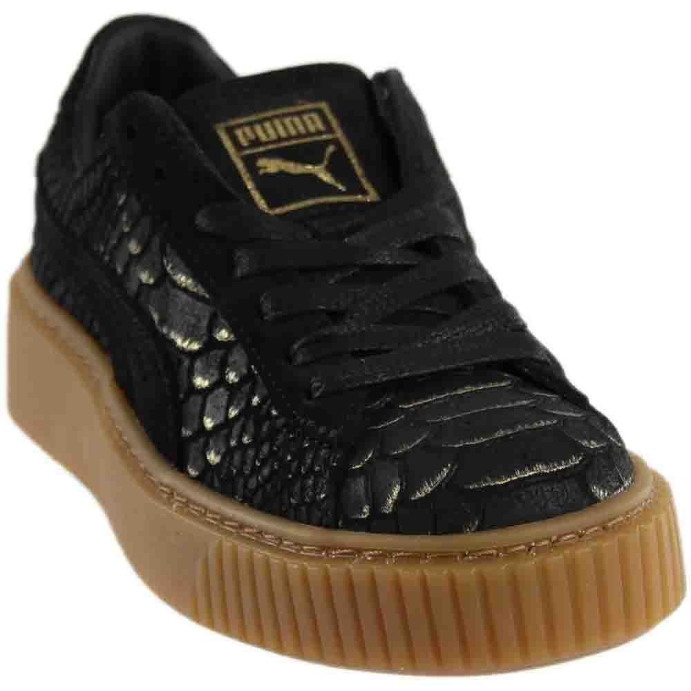 PUMA Women's Platform Sneakers B06XCN99V4 5.5 B(M) US Black