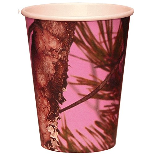 NEXT Pink Camo Paper Cups - 8 Pack