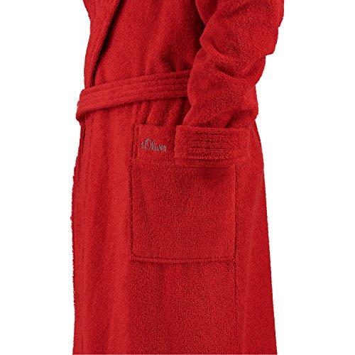 s. Oliver–Albornoz unisex Frottier 3711, 100 % algodón, rojo, medium