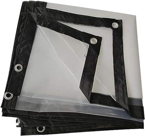 BH Lona Impermeable Heavy Duty Transparente Engrosamiento Pérgola Protector Solar Dobladillo Refuerzo PVC Tela Impermeable Lluvia Hebilla de Metal, 24 Tamaños (Color: Claro, Tamaño: 2X5M): Amazon.es: Hogar