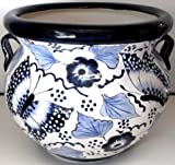 TALAVERA PLANTER (X-LARGE, BLUE)