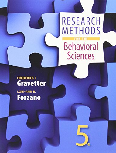 Research Methods F/Behavior.Sci.(Loose)