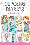 download ebook cupcake diaries 4 books in 1!: katie and the cupcake cure; mia in the mix; emma on thin icing; alexis and the perfect recipe pdf epub