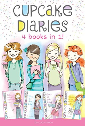 Cupcake Diaries 4 Books in 1!: Katie and the Cupcake Cure; Mia in the Mix; Emma on Thin Icing; Alexis and the Perfect ()