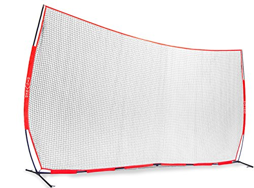 Big Red XL 21.6' x 11.6' Portable Bow Style Field Barrier Net / Gym Divider Net by Red Athlete