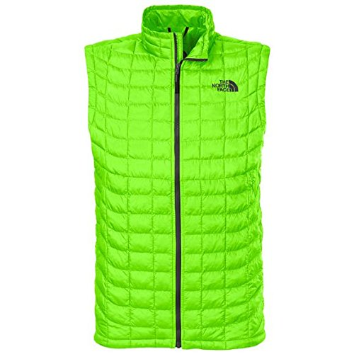 The North Face ThermoBall Vest - Men's Power Green Small by The North Face
