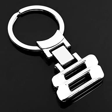 BMW 3 Series Style Metal Car Logo Key Ring Key Chain Keyfob Genuine US SELLER