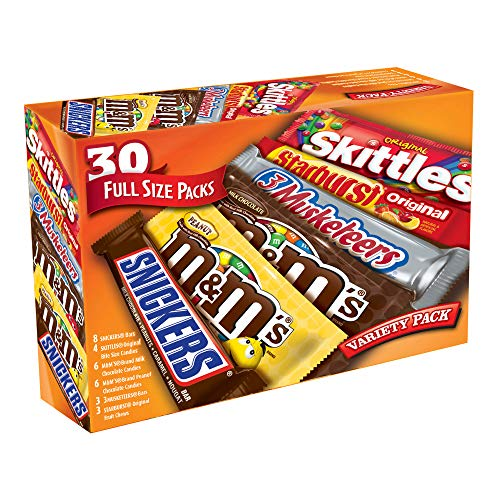 Mars Real Chocolate Mixed Singles, 53.66 Ounce ()
