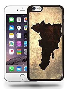 Dominican Republic National Vintage Country Landscape Atlas Map Phone Case Cover Designs for iPhone 6 Plus