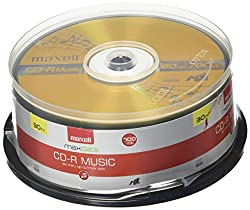 Maxell 625335 Recordable Cd (Audio Only) 0