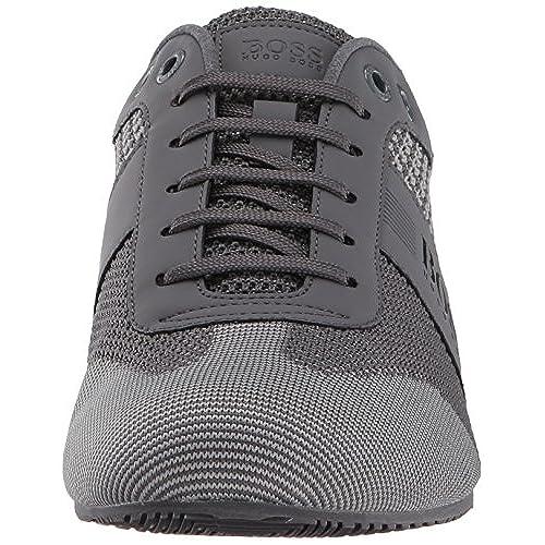 Hugo Boss Mens Lighter Low Knitted Sneaker High Quality