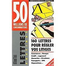 50 millions de consommateurs numéro pratique - n° 25 - septembre 1992 - Lettres pratique - 160 lettres pour régler vos litiges