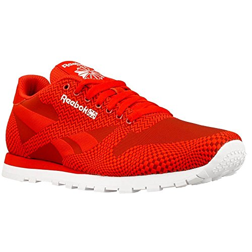 Reebok - CL Runner Jacquard - Couleur: Rouge - Pointure: 41.0